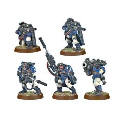 Warhammer 40K: Space Marine Scouts with Sniper Rifles 48-29