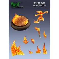 WYR00011 Flame insert and accessories